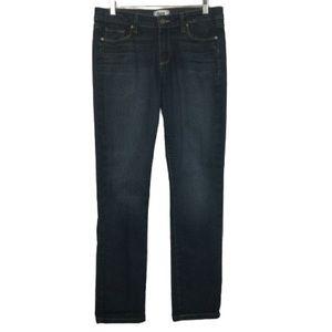 PAIGE Skyline Straight Leg Jeans in Dark Wash